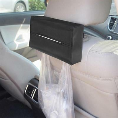 PU Leather Tissue Box Cover Pumping Paper Hotel Car Home Napkin Holder Case J