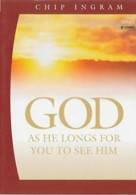 God: As He Longs For You To See Him 2-Disc Set DVD VIDEO MOVIE Chip Ingram study