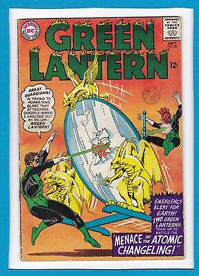 "Green Lantern #38_Jul 1965_Ungraded_""secret Of The Atomic Changeling""_Silver Dc!"