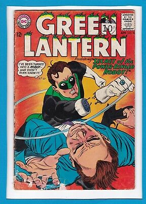 "Green Lantern #36_April 1965_Ungraded_""the Power-Ringed Robot""_Silver Age Dc!"