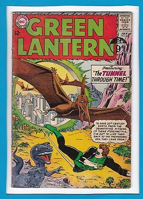 "Green Lantern #30_July 1964_Ungraded_""the Tunnel Through Time""_Silver Age Dc!"