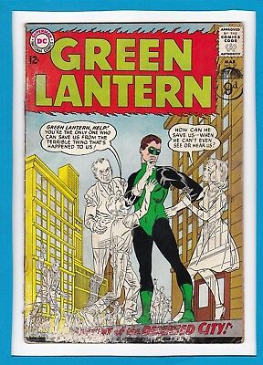 "Green Lantern #27_March 1964_Ungraded_""mystery Of The Deserted City""_Silver Age!"