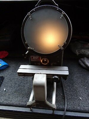 "Lufkin Ultrascope 1200a 10"" Optical Comparator W/ Surface Illumination"