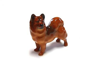 Small Size Bone China Finnish Spiz Dog Royal Doulton Figurine Made in England