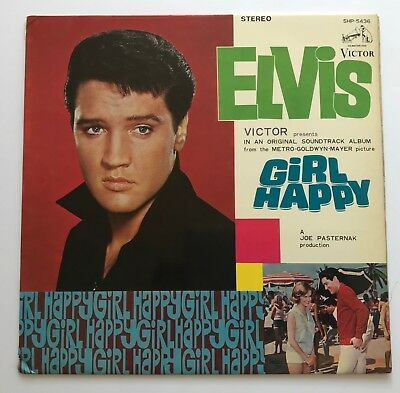 Elvis Presley-Exclusive To Japan Artwork For Girl Happy