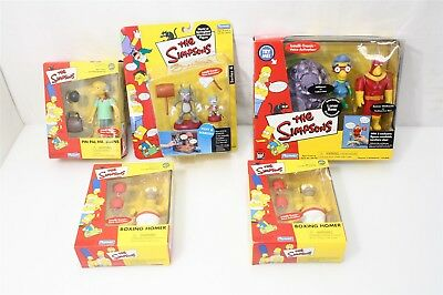The Simpsons Toyfare Wizard Collection In Boxes