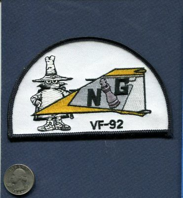 VF-92 SILVER KINGS US Navy F-4 PHANTOM Spook Fighter Squadron Tail Patch