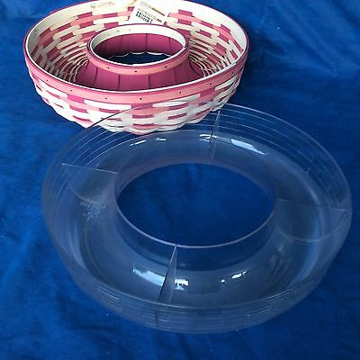 Divided PROTECTOR ONLY for Longaberger Wreath NO Basket New