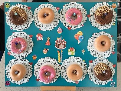 Donut Board Including Stand