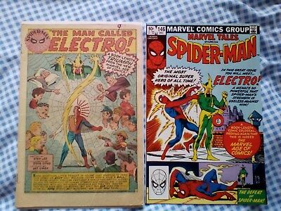 Amazing Spider-Man 9 (1964) 1st App of Electro, affordable and Marvel Tales 146