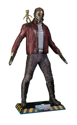 Muckle Studio Oxmox Guardians of the Galaxy Star Lord & Mini Groot  Life size