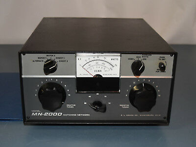 Drake Mn-2000 Heavy Duty Legal Limit Antenna Tuner!!! **look**