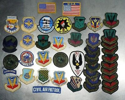 Usaf Us Army Raf Paratrooper Ranger Airborne Military Patch Group Old Young Lot3