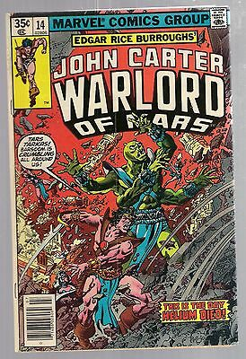 John Carter Warlord Of Mars No 14 No 15 Marvel