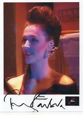 "Red Dwarf Auto Photo Print Frances Barber ""Genny"""