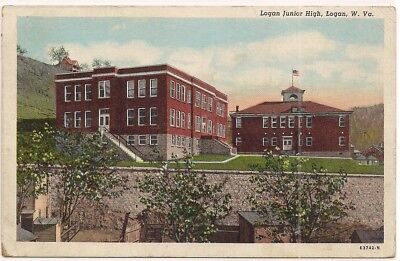 Logan Wv West Virginia Postcard