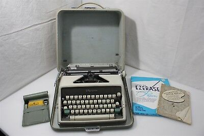Olympia West German Portable Typewriter & Accessories Works