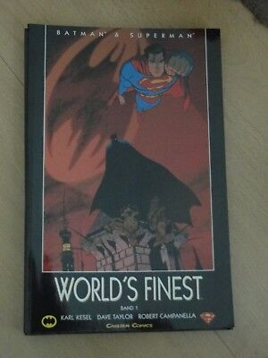 Batman + Superman - World`s Finest Band 1 bis 6 Komplett