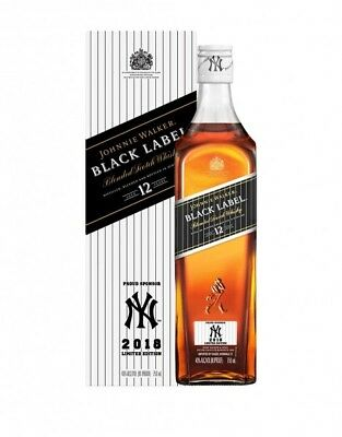 Johnnie Walker Black Label 2018 New York Yankees Limited Edition