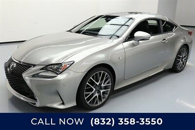 Lexus RC  Texas Direct Auto 2015 Used 3.5L V6 24V Automatic RWD Coupe Moonroof Premium