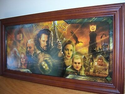 2004 Bradford Exchange Lord Of the Rings, Return of the King Stained Glass