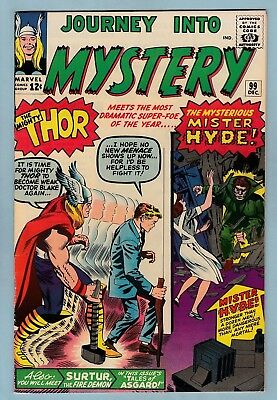 JOURNEY INTO MYSTERY # 99 FNVF (6.5/7.0) 1st MR. HYDE APPEARANCE_THOR_CENTS_1963