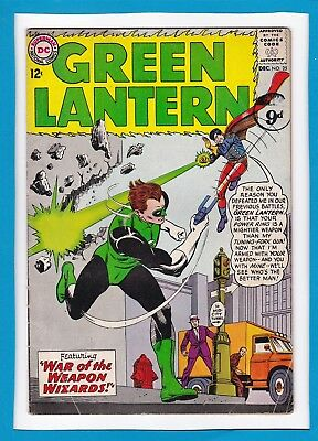 "Green Lantern #25_Dec 1963_Ungraded_""war Of The Weapon Wizards""_Silver Age Dc!"