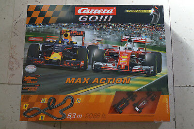 Original Carrera 20062429 GO!!! Max Action Start-Set Autorennbahn NEU +OVP