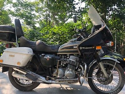 1973 Honda CB  1973 HONDA CB750 Four VINTAGE MOTORCYCLE PARTS/FIX W/TITLE AS-IS CB Yamaha KZ