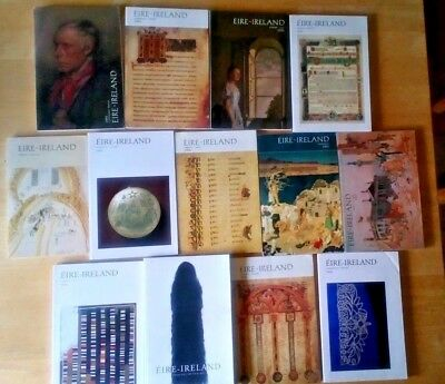 ÉIRE-IRELAND Irish Studies Quarterly 13 Volume Lot - History Culture & Lit