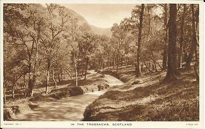 Early Tuck's Postcard -  In The Trossachs, Scotland