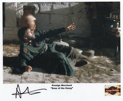 "Game of Thrones Auto Photo Print Allon Sylvain ""Foreign Merchant"""