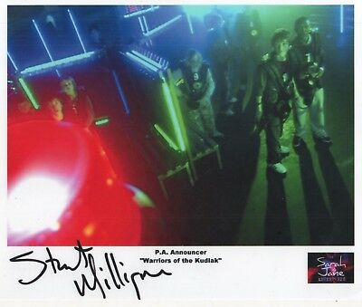 "Sarah Jane Adventures Auto Photo Print Stuart Milligan ""P. A. Announcer"""