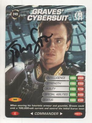 "James Bond Spy Card Trading Card No.249 Auto by Toby Stephens ""Graves"""