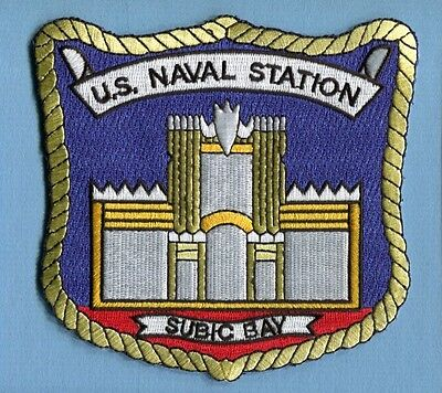 NAVSTA NAVAL STATION SUBIC BAY PHILIPPINES US Navy Ship Base Squadron Patch