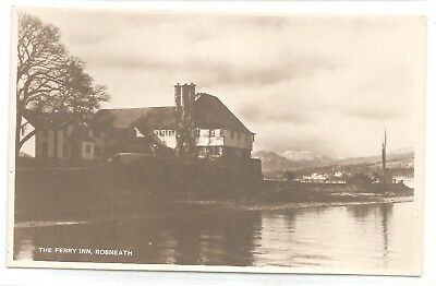 t scotland scottish early old antique uk postcard the ferry inn rosneath