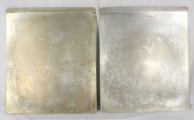 "Vintage Wearever Aluminum Air Bake Cookie Sheet 16"" x 14"" - Lot of 2"