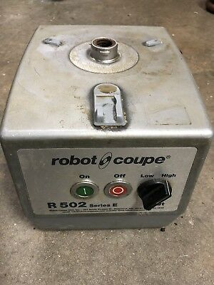 ROBOT COUPE MODEL R502-Series E Motor Support/Housing Assembly