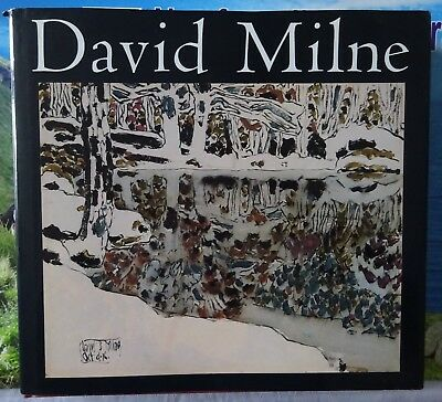 David Milne Hardcover Canadian Art Book with Dust Jacket