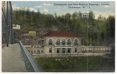 Charleston Wv West Virginia Kanawha County Postcard