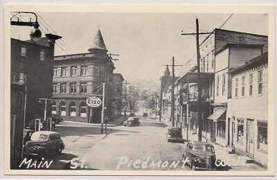 Piedmont Wv West Virginia Mineral County Postcard