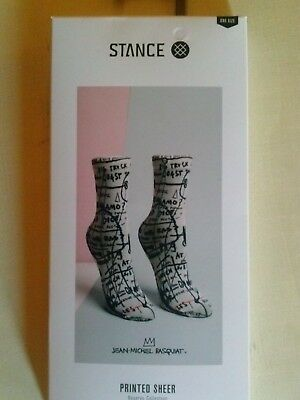 STANCE Jean Michael Basquiat ONE SIZE lowrider nylon sock RESERVE COLLECTION