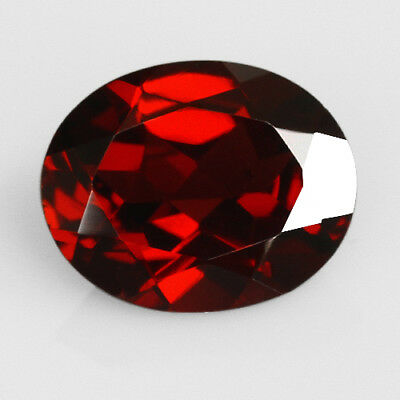 2Ct 100% Natural Blood Red Pyrope Garnet Rhodolite Faceted Cut QRA410