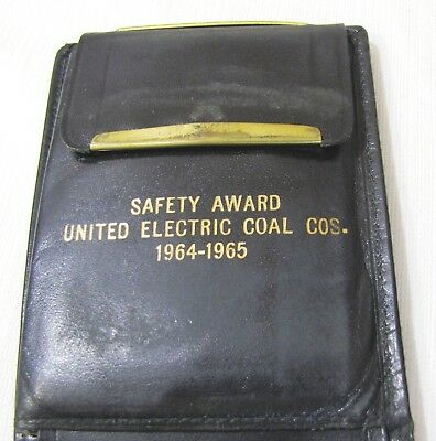 Canton, Il.--United Electric Coal Co.--1964-1965 Safety Awared--Wallet