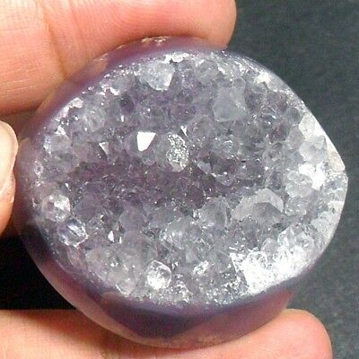 173ct Huge Purple CHALCEDONY Freeform ~100% Natural Sparkling Druzy Crystals~
