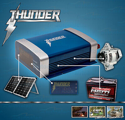 New Model Thunder 12 Volt Dc To Dc 20A Battery Charger Solar Agm Deep Cycle 12V