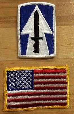 US Army 76th Infantry Brigade USA Flag Flagge Reforger Uniform patch Aufnäher