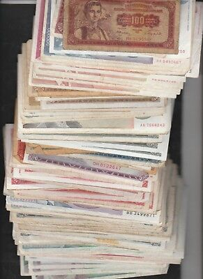 169 Banknotes From Yugoslavia