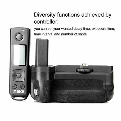 Meike MK-A6500 Camera Battery Grip with 2.4G Wireless Remote Control for Sony GB