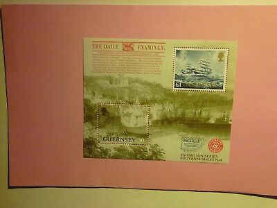 GB GUERNSEY: 1997 Pacific '97 Int'l Stamp Exhibition   MNH  MS740